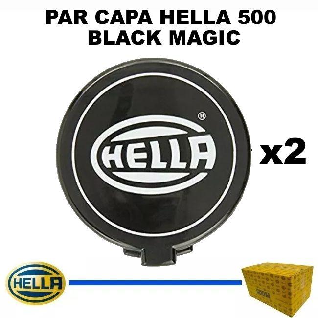 PAR CAPA FAROL HELLA 500 BLACK MAGIC ORIGINAL