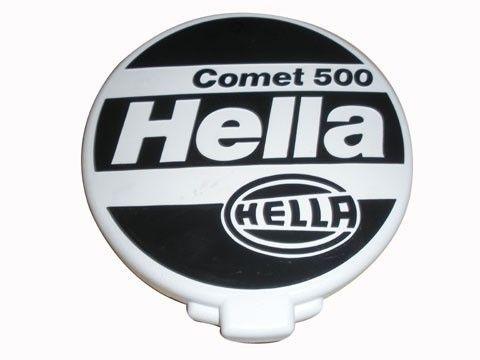 PAR CAPA PROTETORA PARA FAROL AUXILIAR HELLA 500 - CLASSIC