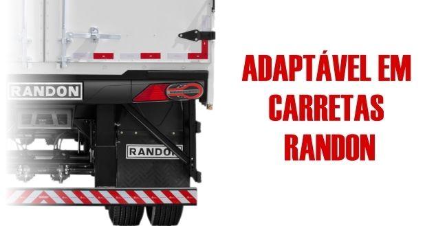 PAR LANTERNA CARRETA RANDON MODULO R SINALSUL 24V + CHICOTE