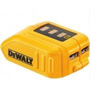 Adaptador Usb Dewalt Para Baterias 12v/20v Powerbank Dcb090
