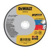 """CAIXA COM 25 UN DISCO CORTE INOX HP2 7"""" x 1,9mm x 7/8"""" DEWALT DW84706"""