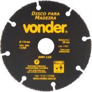 DISCO P/MADEIRA 110MM DMV110 VONDER 1201110000