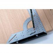 Esquadro Universal com Gabarito - 520500 - Wolfcraft - 200mm x300mm
