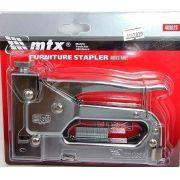 GRAMPEADOR MANUAL METAL DE PRESSAO PARA GRAMPOS MTX - 409029