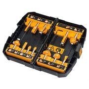 Kit 12 Fresas Profissionais  8mm para Tupia (Dewalt DW90016-LA)