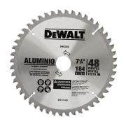 LAMINA WIDEA 7 1/4x1 48D P/ALUMINIO DEWALT DWA03200