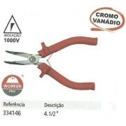 Mini Alicate Meia Cana Curvo 4 1/2