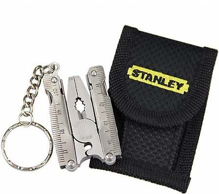 Alicate Multi Ferramenta Chaveiro 15 em 1 (Stanley  94-808)