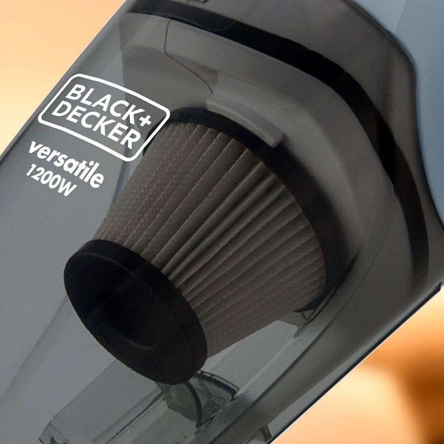 ASPIRADOR DE PÓ VERTICAL BLACK AND DECKER 1200W AV12