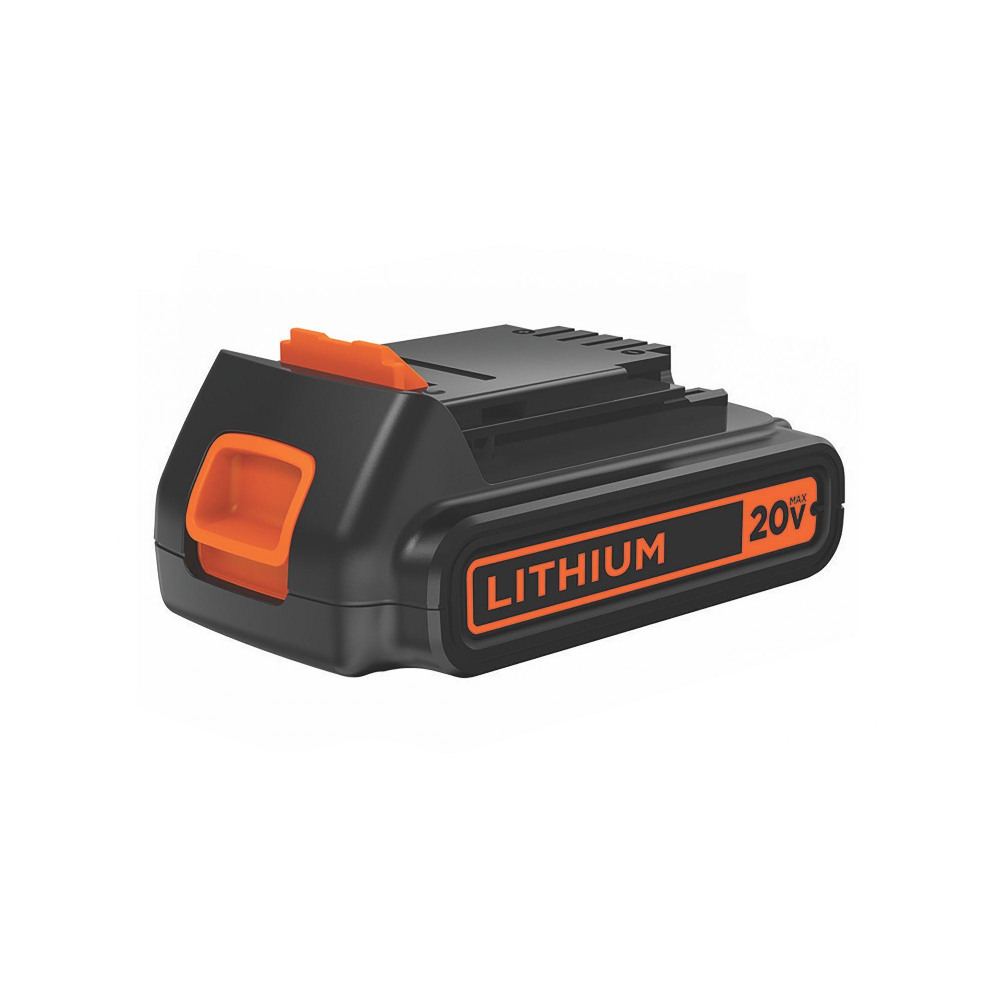 BATERIA DE LITIO ION 20V BLACK AND DECKER 1.5Ah LD120BAT