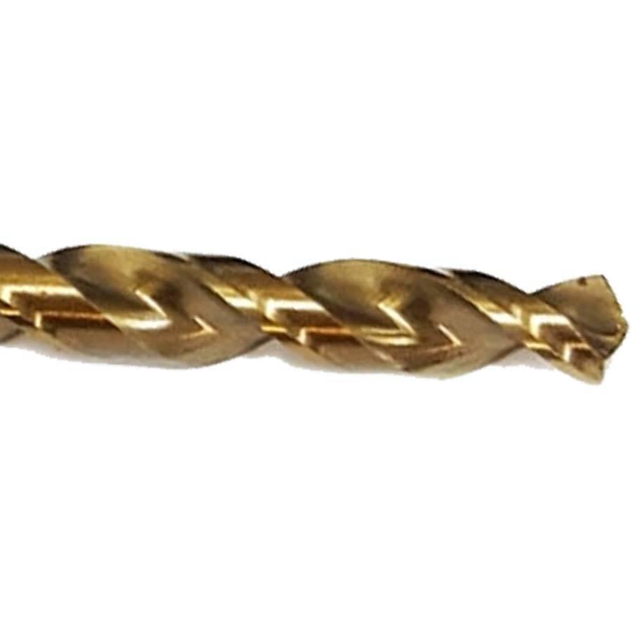 Broca de Aço Rapido 10.00 mm Gold Ferrous DEWALT (DWA30100G)