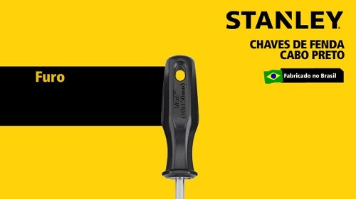 """Chave Phillips PH2 1/4"""" x  4'' ou 6,5 x 100 mm  (Stanley STHT60690)"""