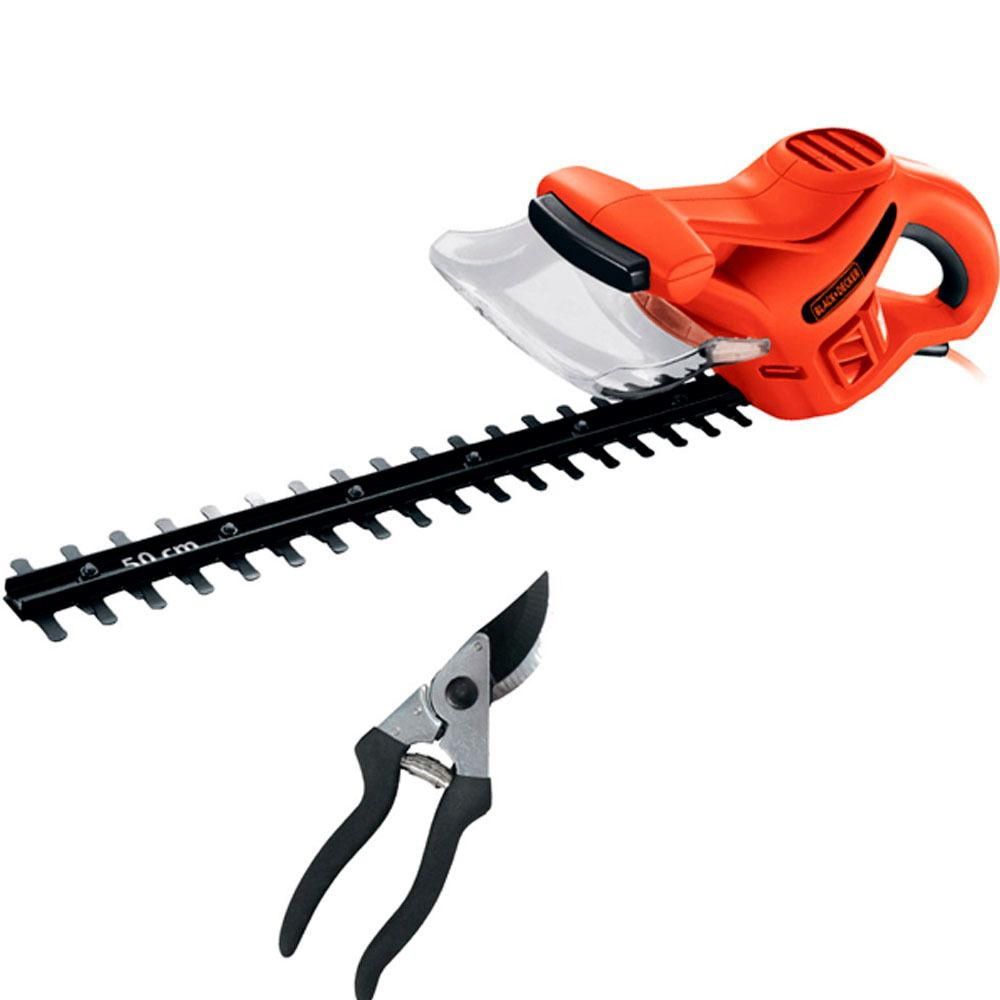 CORTADOR CERCA VIVA 420W + ALICATE BLACK AND DECKER HT500KIT