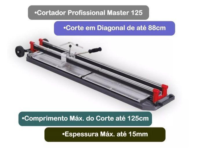 CORTADOR PORCELANATO CORTAG MASTER 125 60303