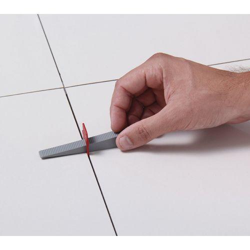 ESPACADOR NIVELADOR SLIM 1,0 mm (AZUL) CORTAG 61534