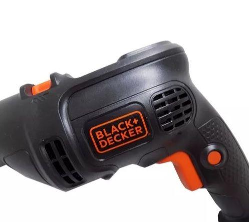 "FURADEIRA IMPACTO 1/2"" 650W C/ MALETA BLACK+DECKER (BD650K)"