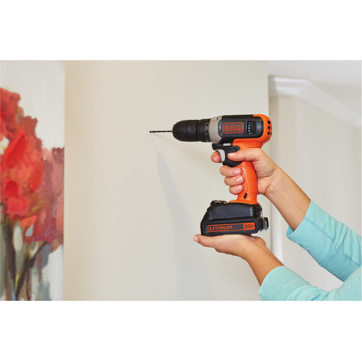 Furadeira Parafusadeira 20V Black and Decker BCD702C1