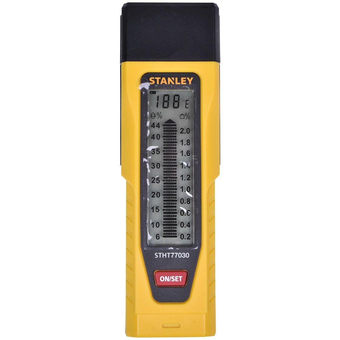 Medidor de Umidade Digital STHT77030 Stanley