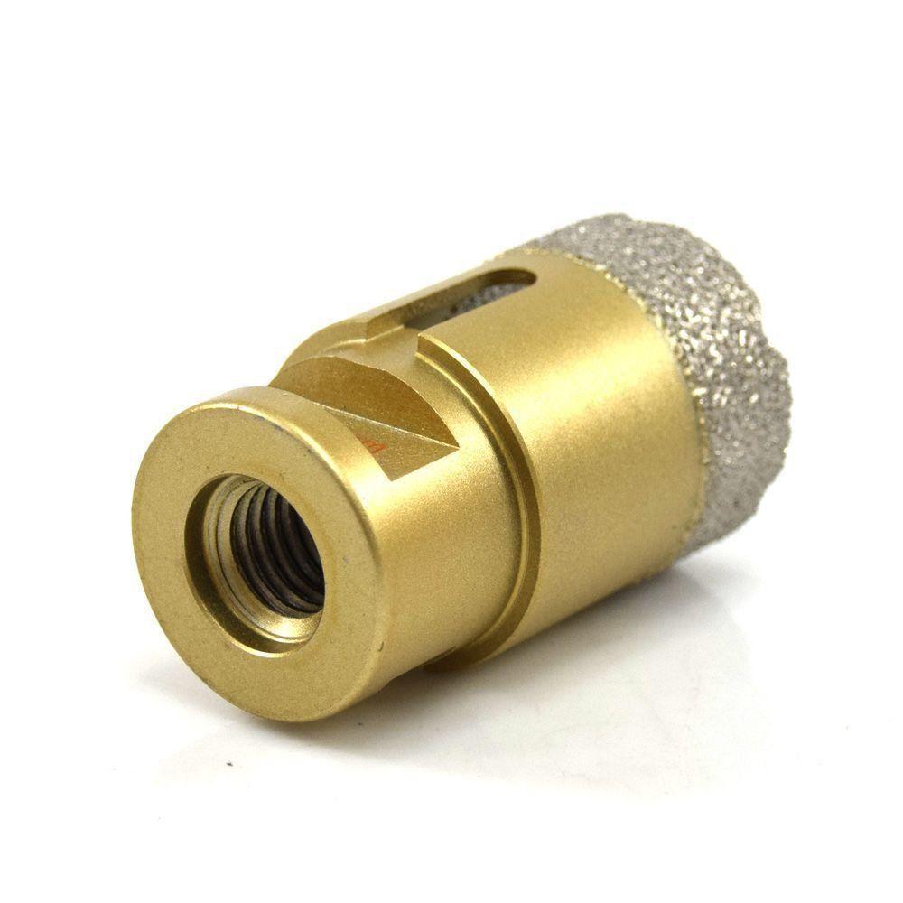 Serra Copo broca para furar porcelanato diamantada 25mm M14 CORTAG 61872