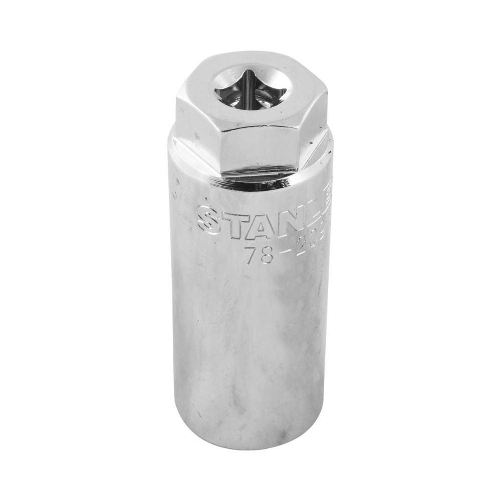 """Soquete para Sensor do Oxigênio e Vácuo 3/8"""" - 1"""" (Stanley 78-209)"""