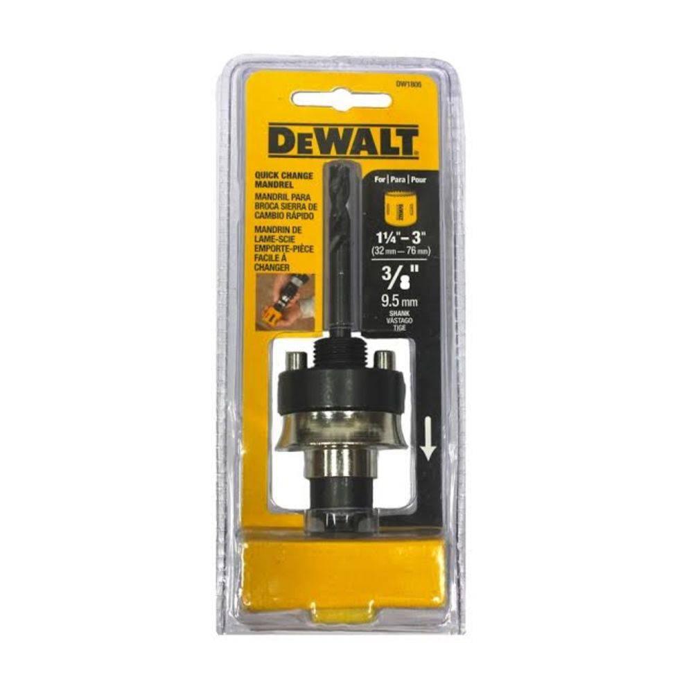 Suporte Guia para Fixação de Serra Copo 32 a 76mm Dewalt DW1805
