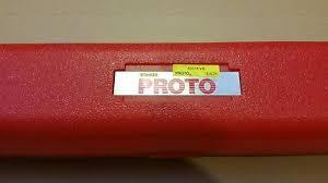 """Torquimetro de Estalo de 3/4"""" Faixa de 120-800N.m (PROTO J6020NM)"""
