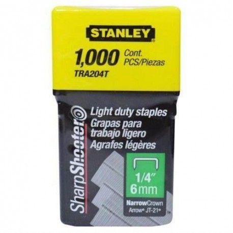 Grampos Stanley Para Grampeador 1/4 Tra204t