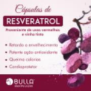 Resveratrol em cápsulas