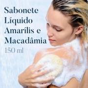 Sabonete Líquido Amarilis e Macadâmia  - 150 ml