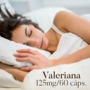 Valeriana 125 mg - 60 cápsulas
