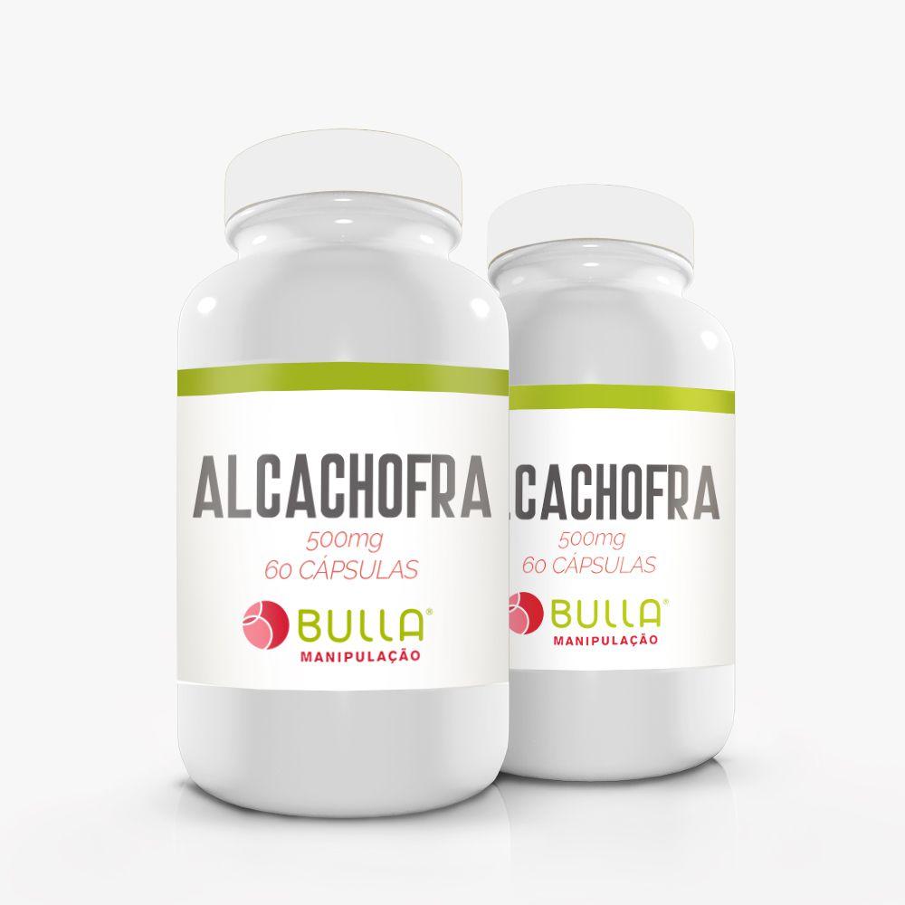 Alcachofra 500 mg 60 cápsulas   - Bulla Farmácia de Manipulação