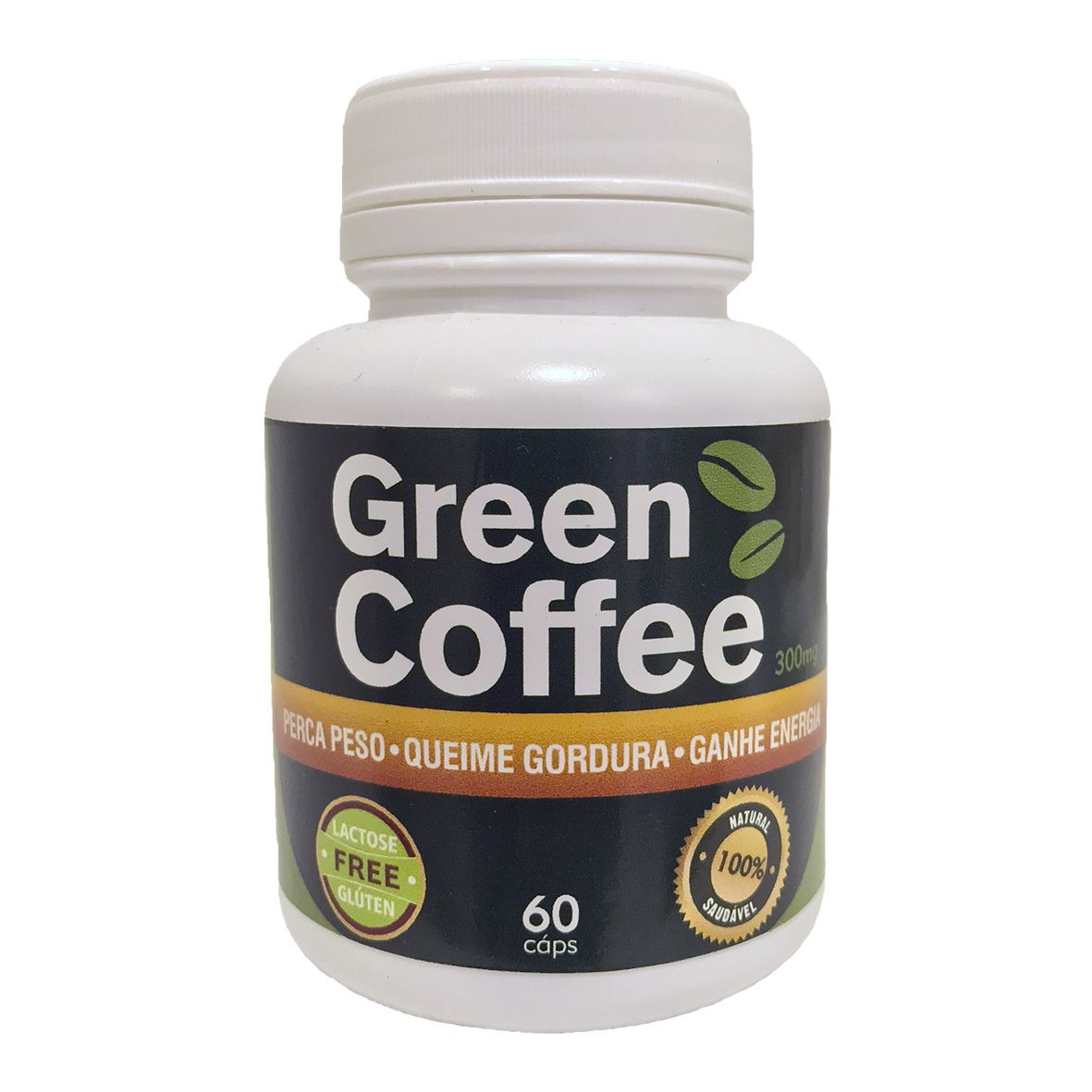 Café Verde (Green Coffee) - 60 cápsulas