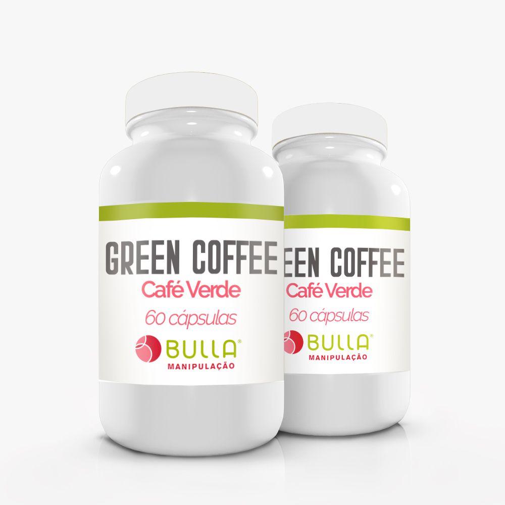 Café Verde (Green Coffee) - 60 cápsulas  - Bulla Farmácia de Manipulação