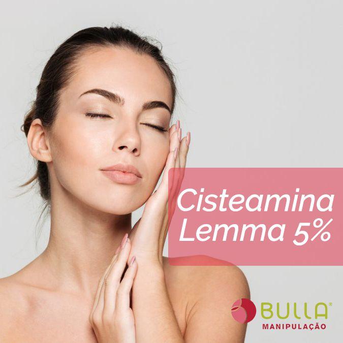 Cisteamina Lemma® 5% Creme  - Bulla Farmácia de Manipulação