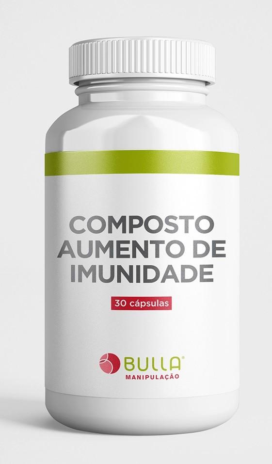 Composto Aumento de Imunidade - 30 cápsulas  - Bulla Farmácia de Manipulação