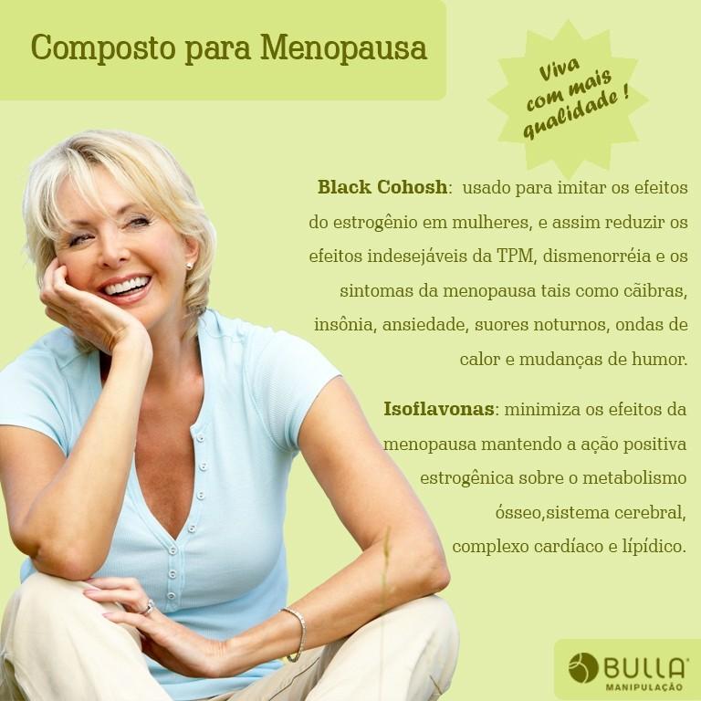 Composto Para Menopausa - 60 cápsulas