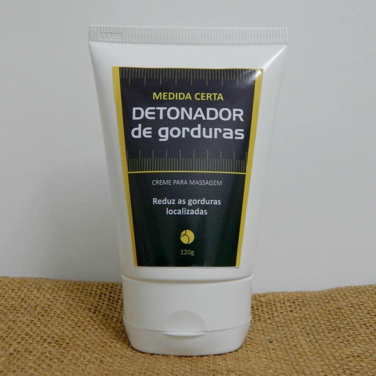 Creme Medida Certa - Detonador de Gorduras - 120g  - Bulla Farmácia de Manipulação