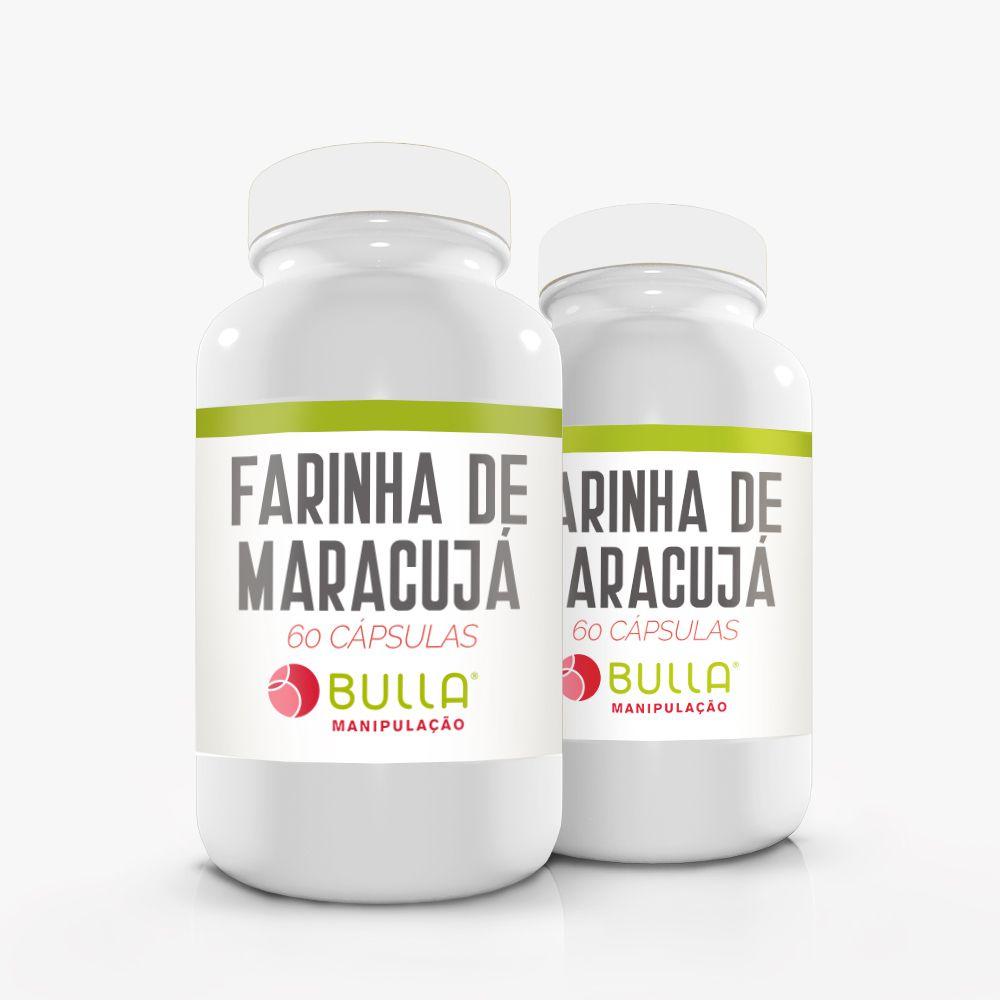 Farinha de Maracujá - 500mg   - Bulla Farmácia de Manipulação
