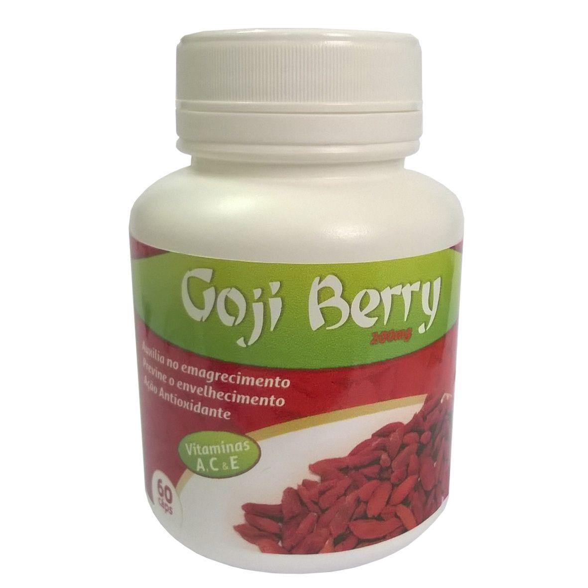 Goji Berry - 200mg  - Bulla Farmácia de Manipulação