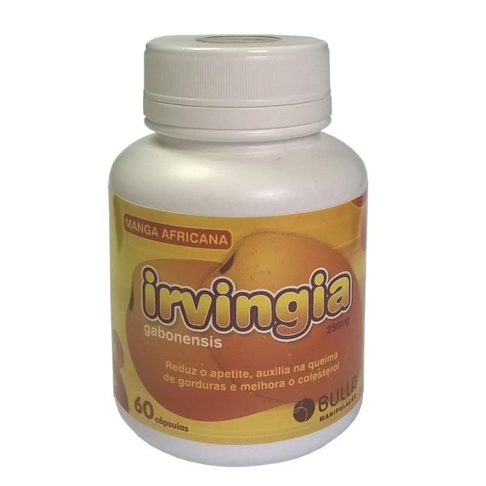 Irvingia - Extrato de Manga Africana 250mg - 60 cápsulas  - Bulla Farmácia de Manipulação
