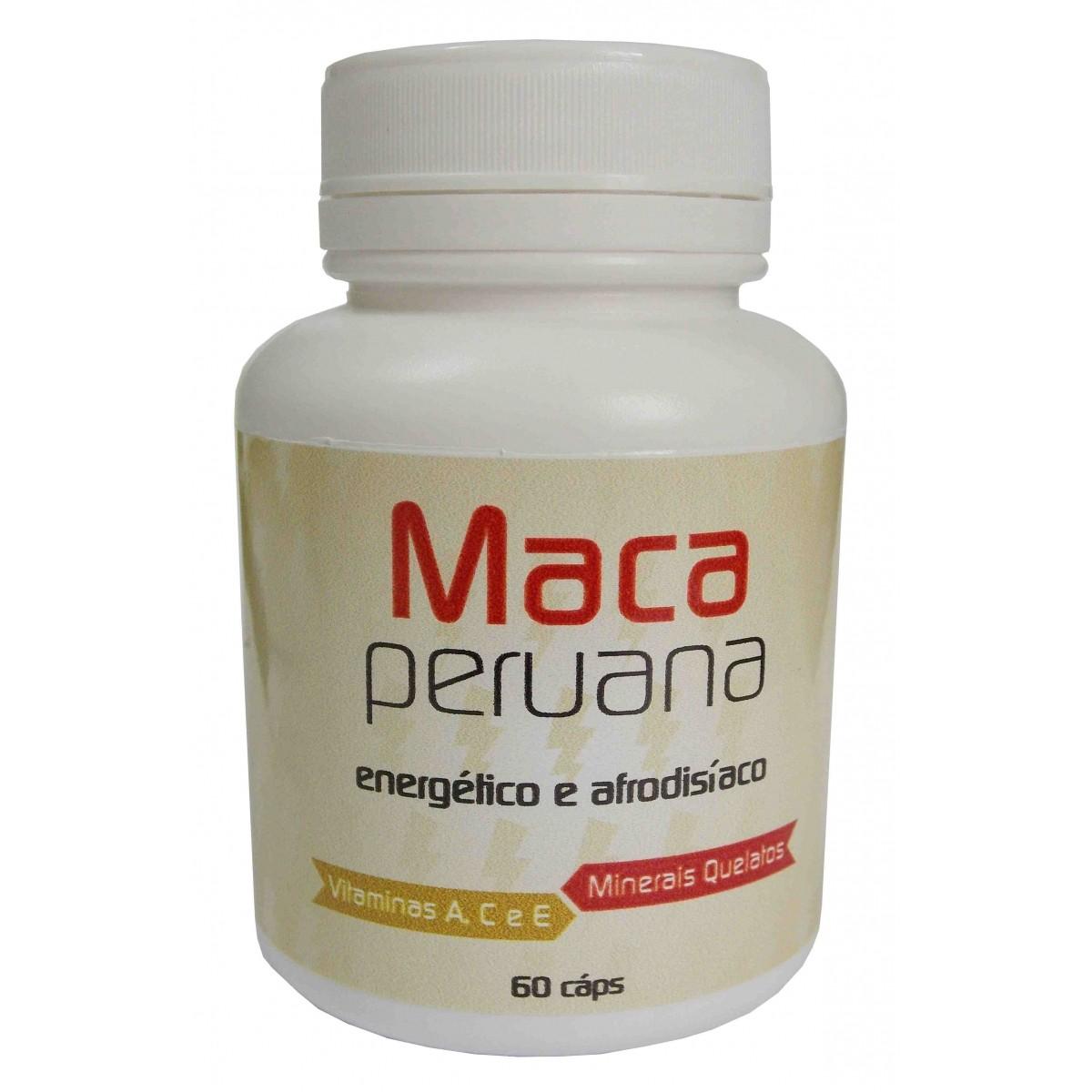 Maca Peruana 500 mg - 60 cápsulas   - Bulla Farmácia de Manipulação