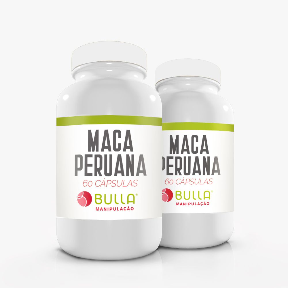 Maca Peruana 500 mg - 60 cápsulas