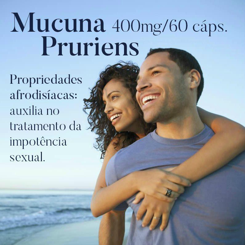 Mucuna Pruriens 400mg - 60 cápsulas
