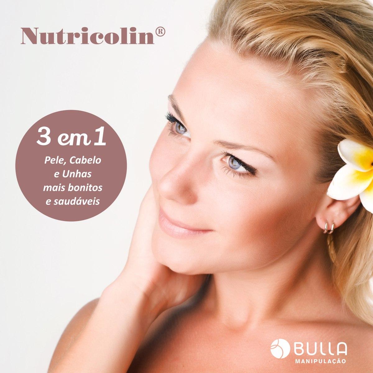 Nutricolin 200mg - 30 cápsulas  - Bulla Farmácia de Manipulação