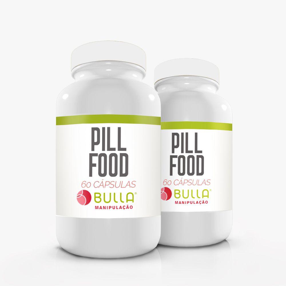 Pill Food - 60 Cápsulas   - Bulla Farmácia de Manipulação