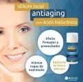 Sérum Facial Anti Aging com ácido hialurônico firmeza e hidratação