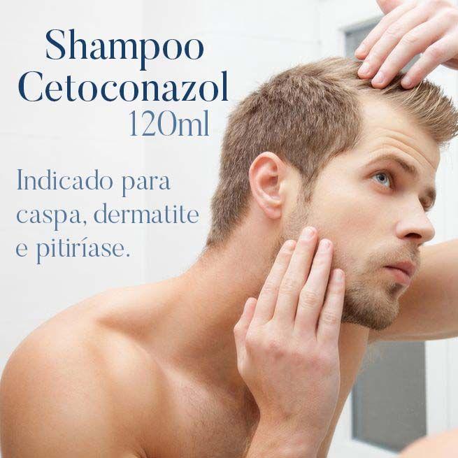 Shampoo Cetoconazol - 120 ml