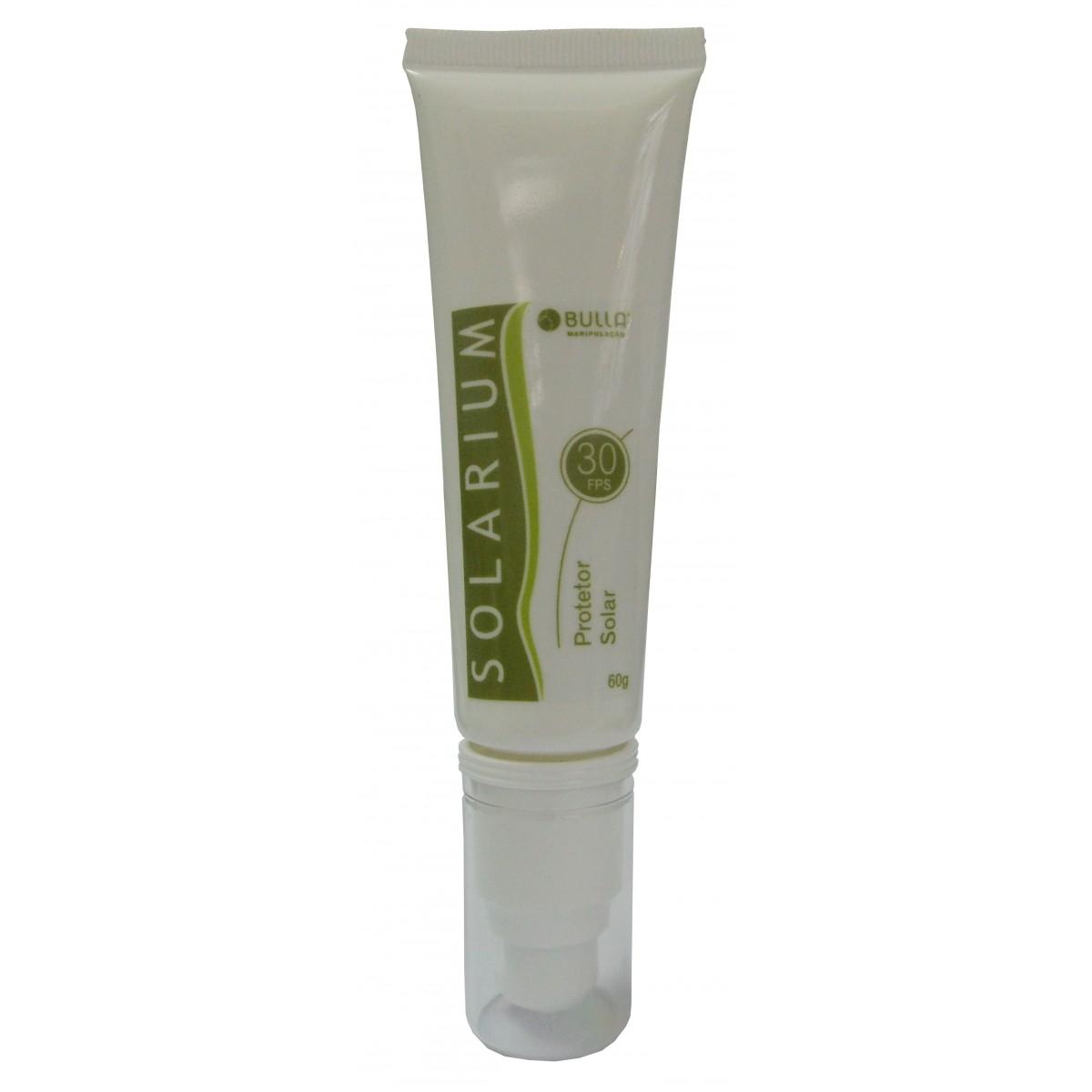 Solarium Protetor Solar  FPS 30 - 60 ml