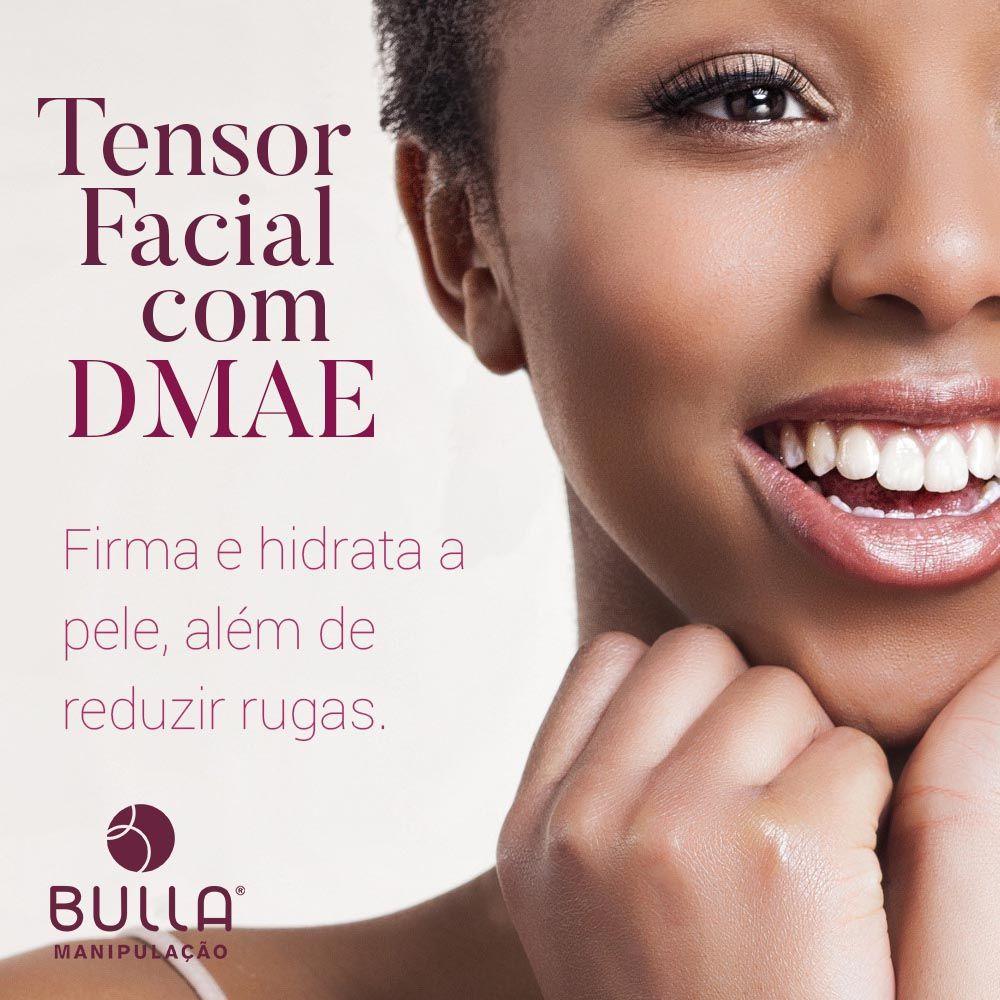 Tensor Facial com DMAE - 30 g  - Bulla Farmácia de Manipulação