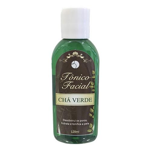 Tônico facial chá verde - 120 ml  - Bulla Farmácia de Manipulação